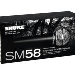 Shure SM58-LC (Genuine, Brand New) Cardioid Handheld Dynamic Microphone