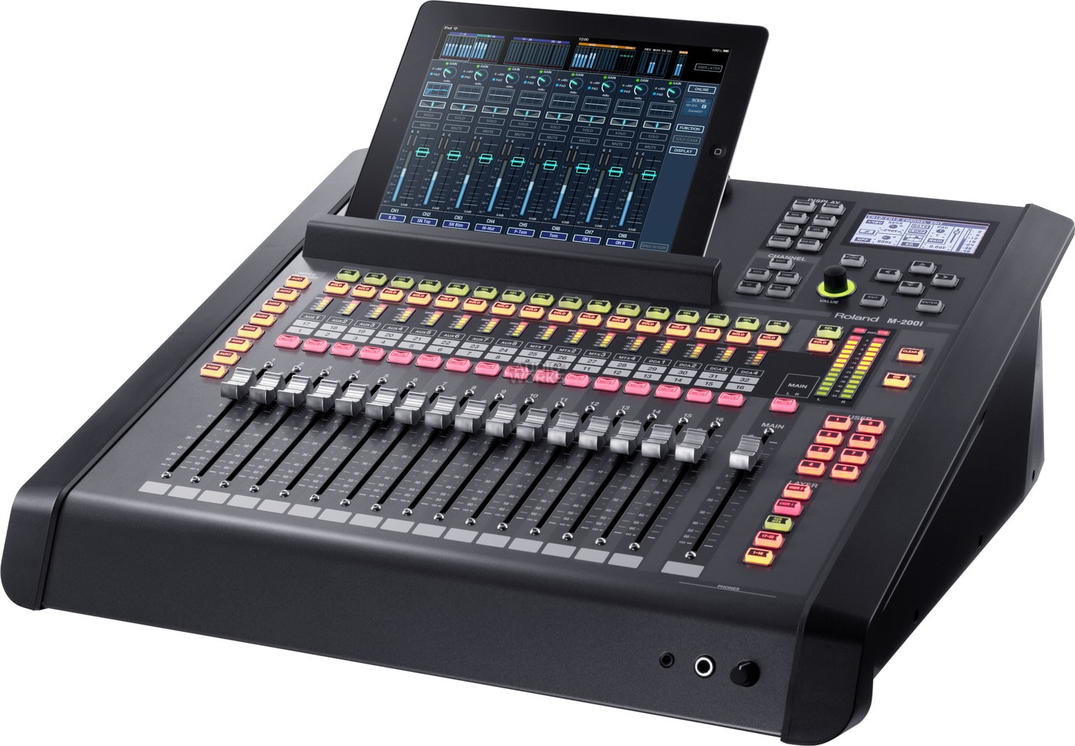 roland m200i 32 channel digital mixer orange audio. Black Bedroom Furniture Sets. Home Design Ideas