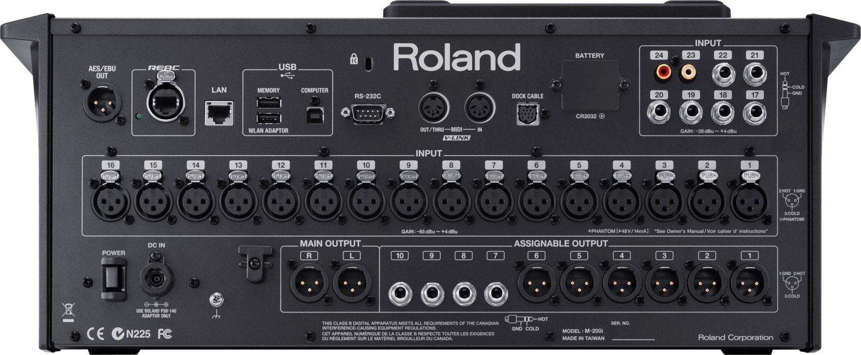 roland m200i 32 channel digital mixer orange audio. Black Bedroom Furniture Sets. Home Design Ideas